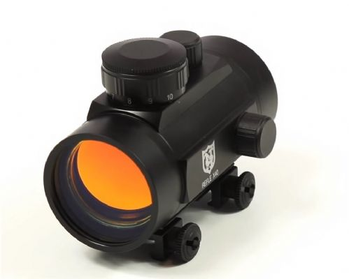 Nikko Stirling NRD40IM Red Dot Reflex Sight with Weaver/Picatinny base mounts